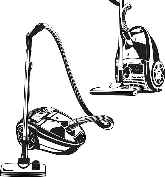 vacuum cleaner - vectors stock pictures, royalty-free photos & images
