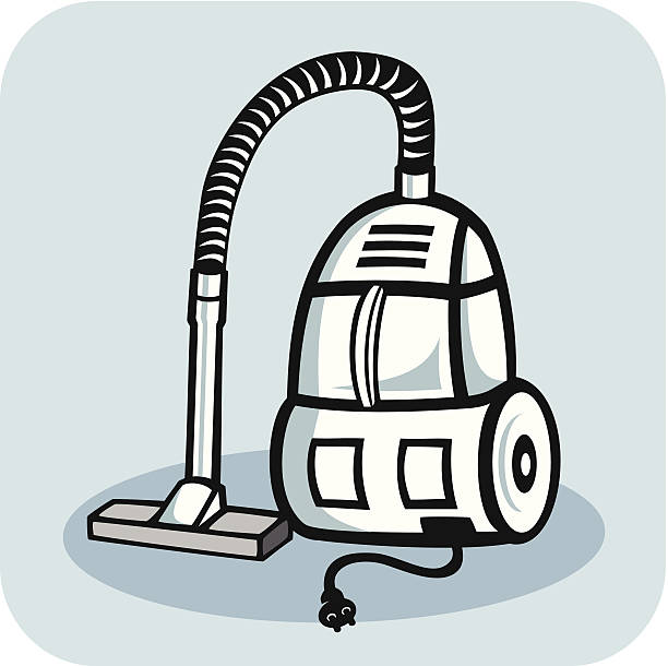 vacuum cleaner - electrical wiring home stock illustrations, clip art, cartoons, & icons