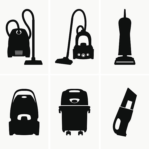 Royalty Free Vacuum Cleaner Clip Art, Vector Images ... Vacuum Clipart Black And White