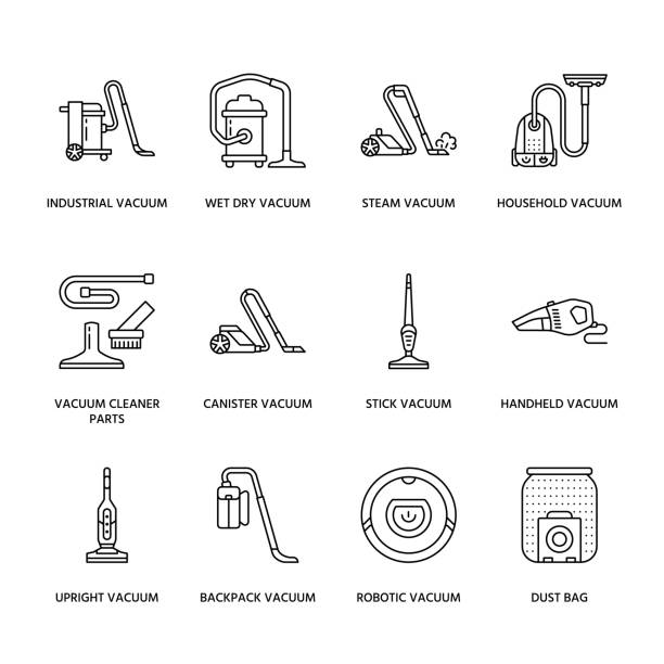 Royalty Free Vacuum Cleaner Clip Art Vector Images Illustrations