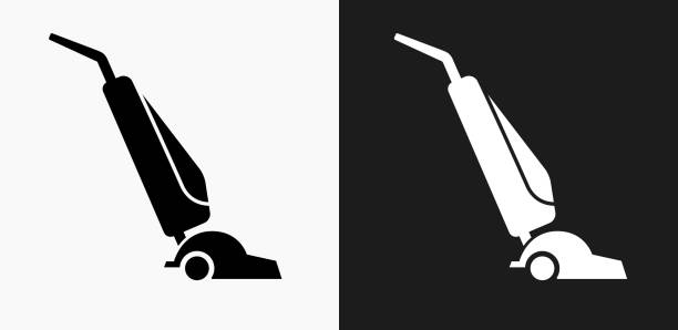 Best Vacuum Cleaner Illustrations, Royalty-Free Vector ... Vacuum Clipart Black And White