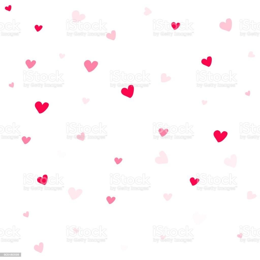 Ilustración De Resumen De Fondo De San Valentín Fondo De