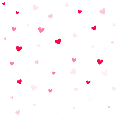 Valentine Background Abstract Hearts Wallpaper Heart On