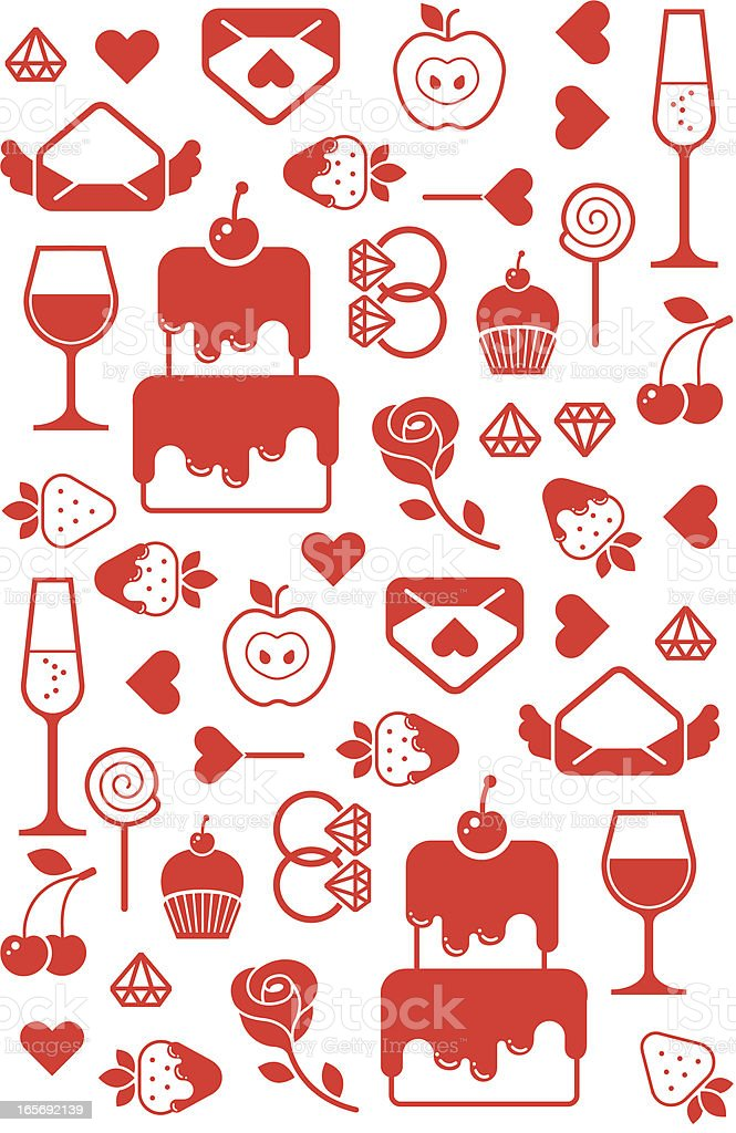 Valentine background royalty-free valentine background stock vector art & more images of alcohol