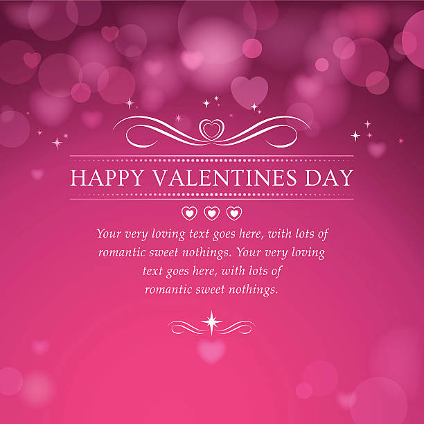 illustrazioni stock, clip art, cartoni animati e icone di tendenza di sfondo di san valentino - love word