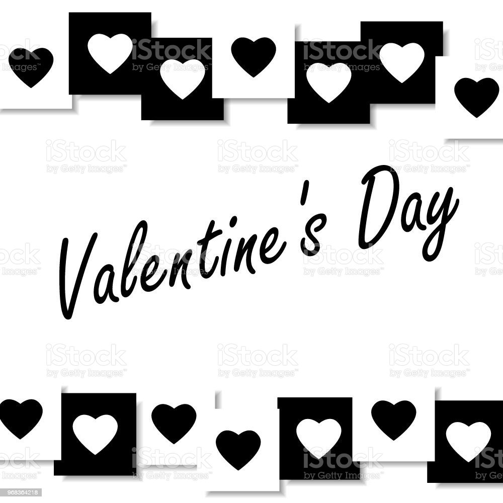 Valentine Background With Hearts Royalty Free Valentine Background With Hearts Stock Vector Art