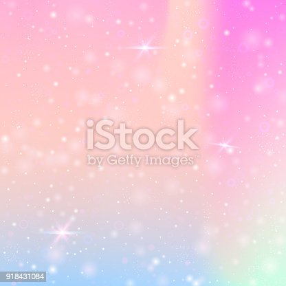 istock Valentine background with pink glitter hearts. February 14th day. 918431084