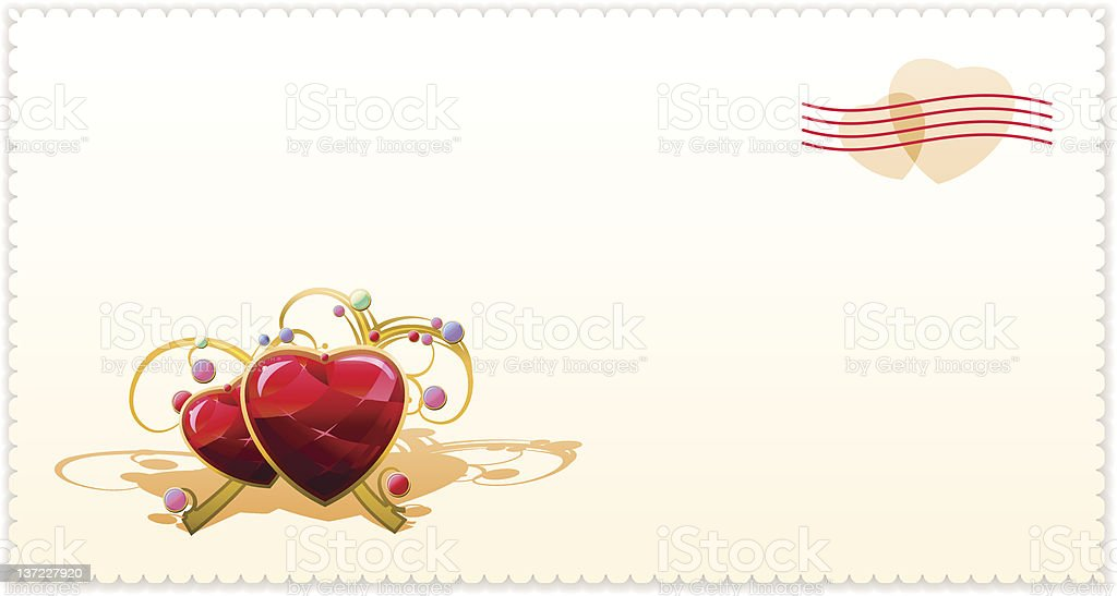 Valentine Card royalty-free valentine card stock vector art & more images of decoration
