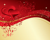 Vector illustration valentine card with heart