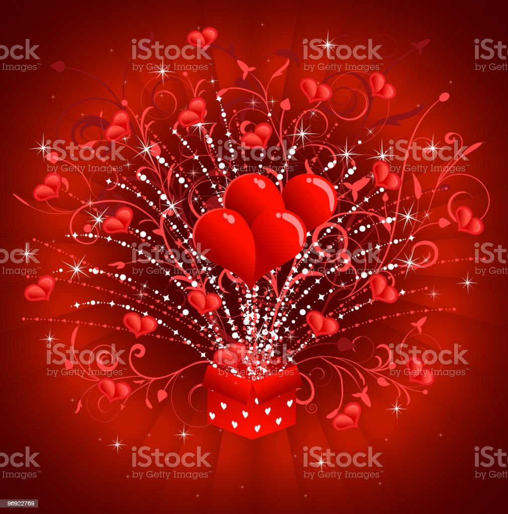 Valentine card royalty-free valentine card stock vector art & more images of backgrounds