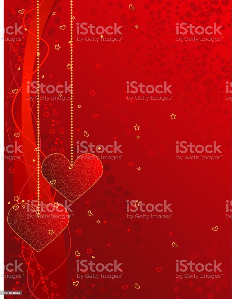 Cartolina di San Valentino cartolina di san valentino - immagini vettoriali stock e altre immagini di a forma di stella royalty-free