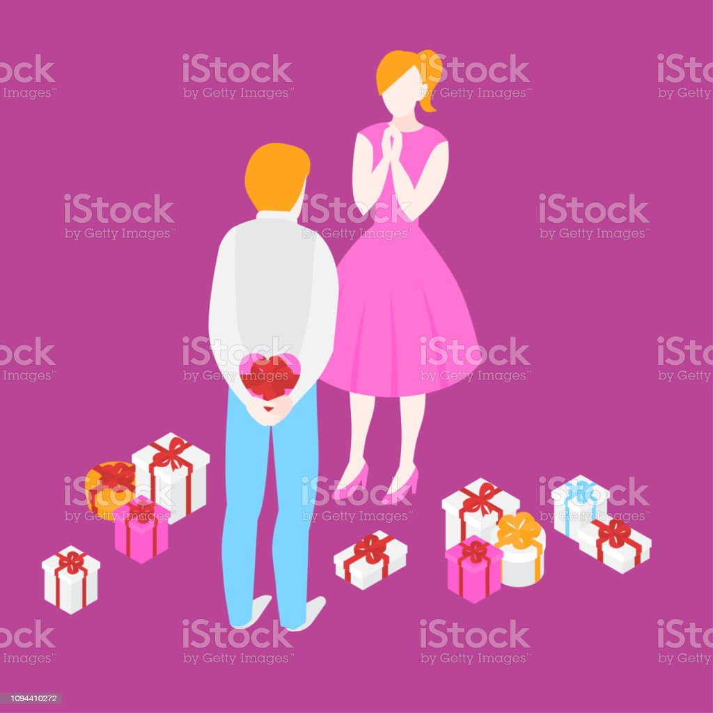 Cadeau romantique pour femme