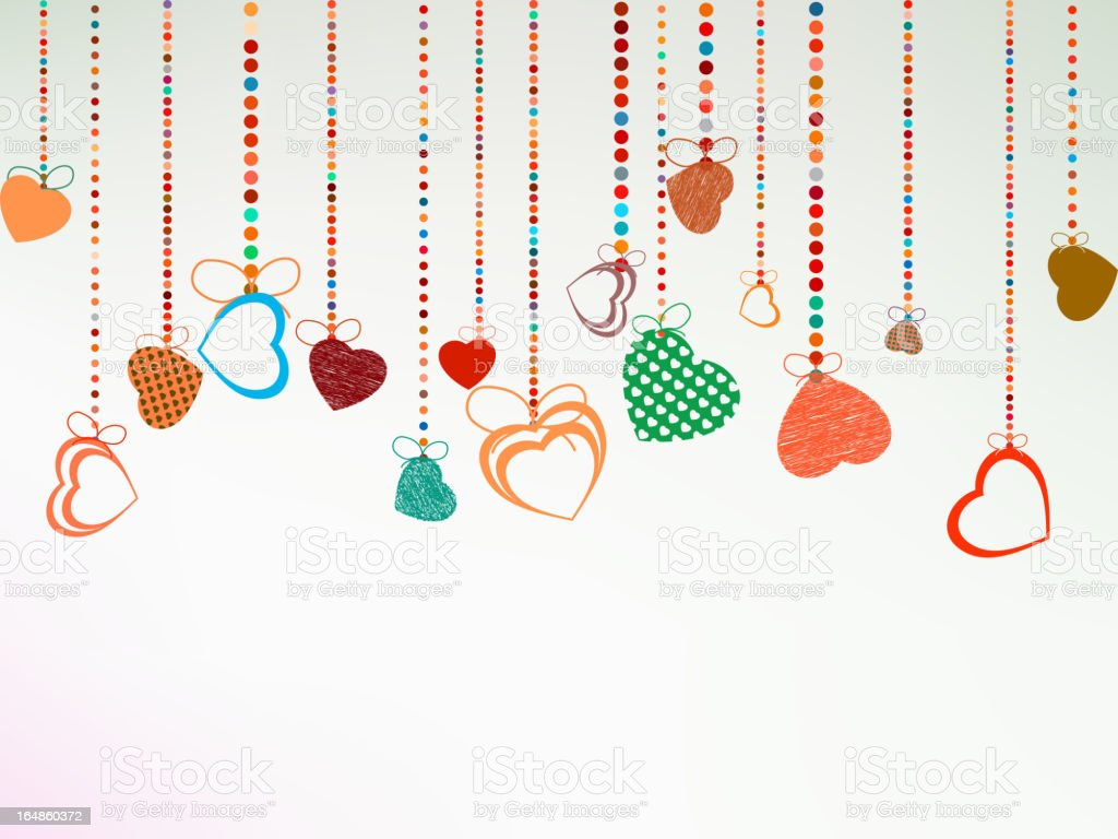 Valentine day background. EPS 8 royalty-free stock vector art
