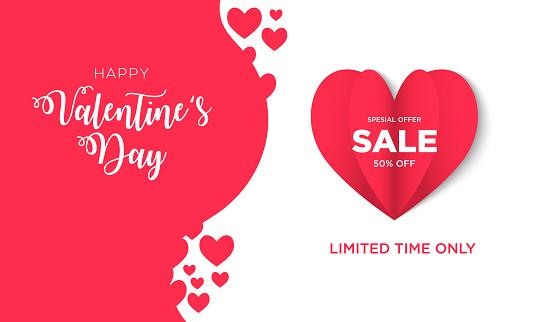 Valentine Day Background Sale