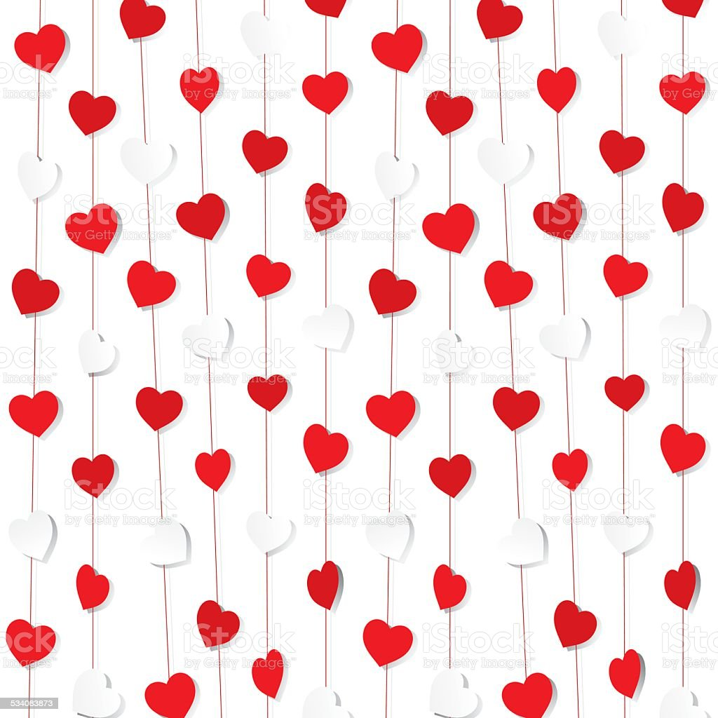 valentine day gift wrapping paper design royalty free stock vector art - Valentines Day Wrapping Paper