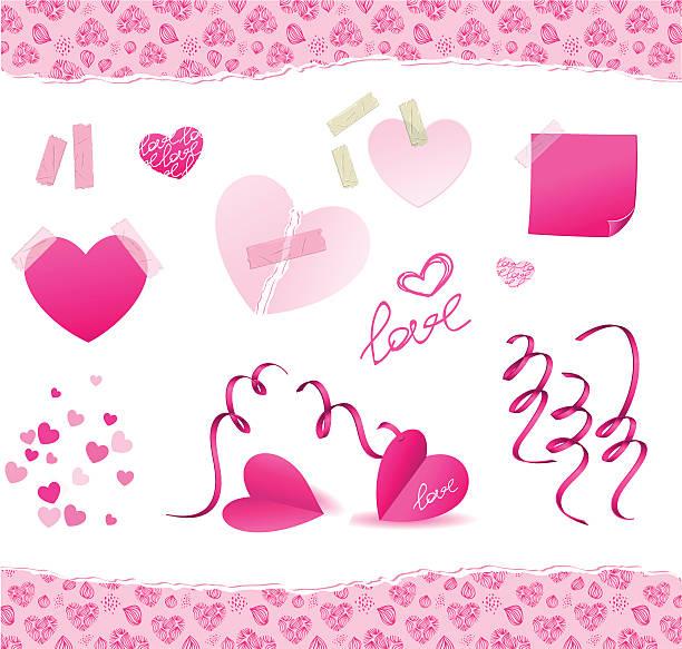 illustrazioni stock, clip art, cartoni animati e icone di tendenza di giorno di san valentino - love word