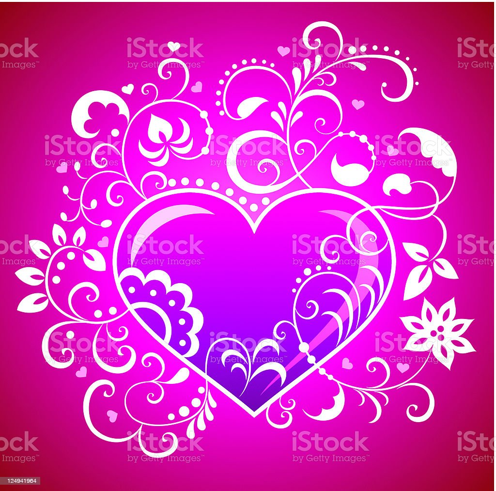 Valentine greeting card. royalty-free stock vector art