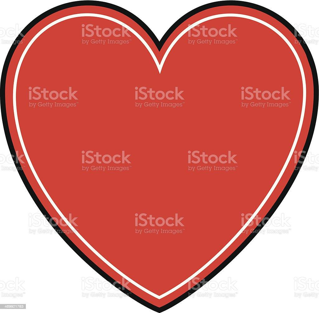 Valentine Heart Symbol royalty-free stock vector art