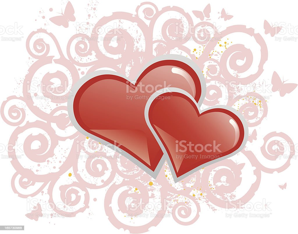 Valentine Hearts royalty-free stock vector art