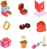 Valentine  icons | ISO collection