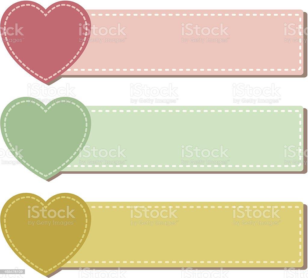 Valentine Label royalty-free stock vector art