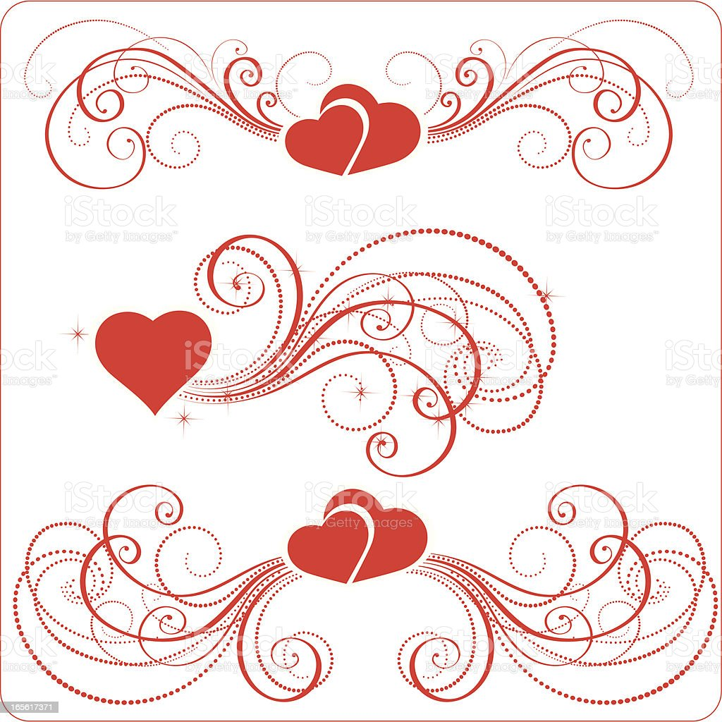Valentine Ornament Stock Vector Art More Images Of Art And Craft
