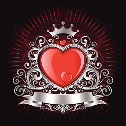 Valentine Shield background