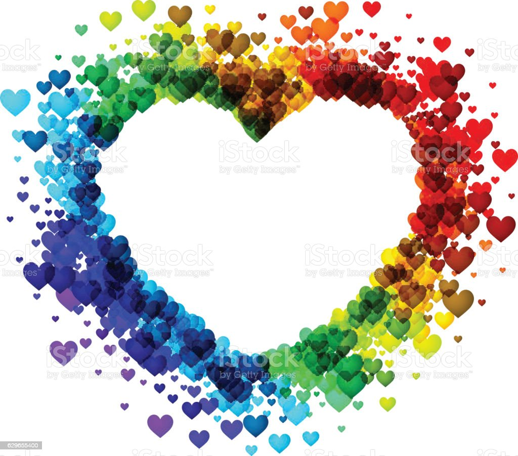 Valentines background with rainbow heart valentines background with rainbow heart valentines background with rainbow heart voltagebd Images