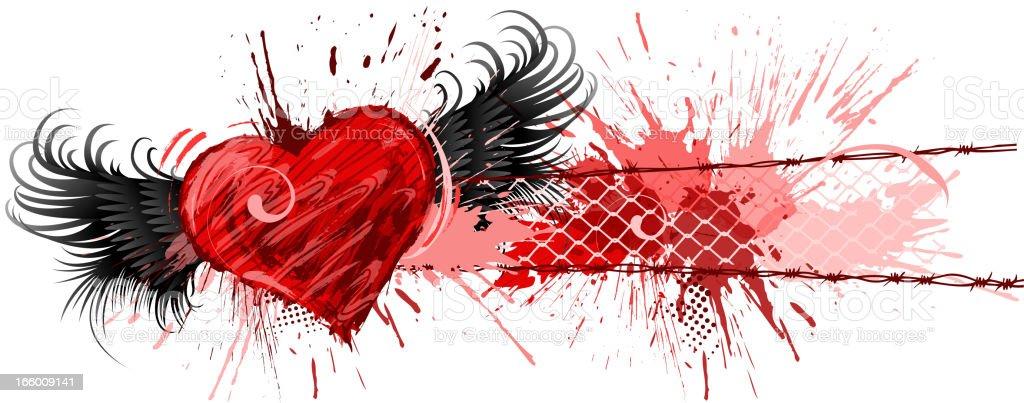valentine's banner royalty-free stock vector art