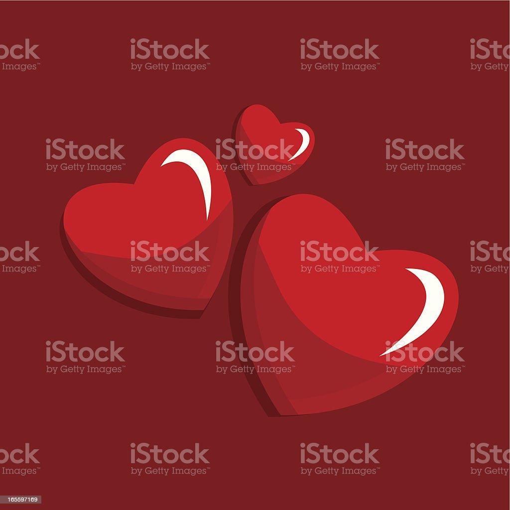 Valentine's card ilustración de valentines card y más banco de imágenes de abstracto libre de derechos