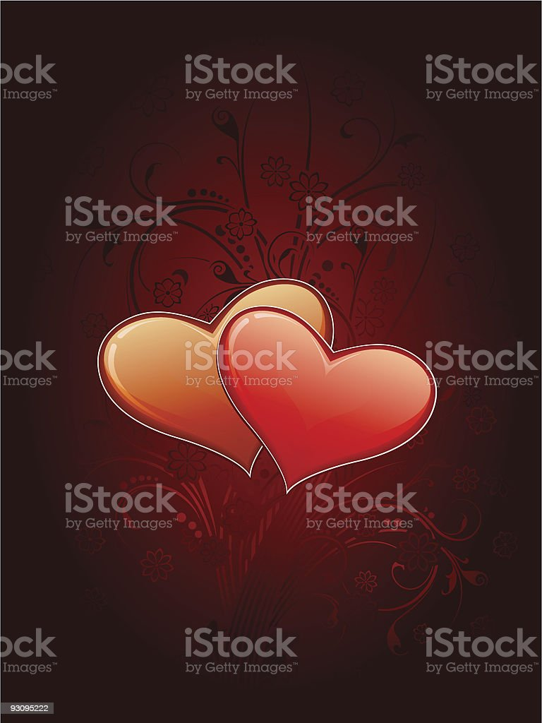 Valentine's card royalty-free valentines card stock vector art & more images of abstract