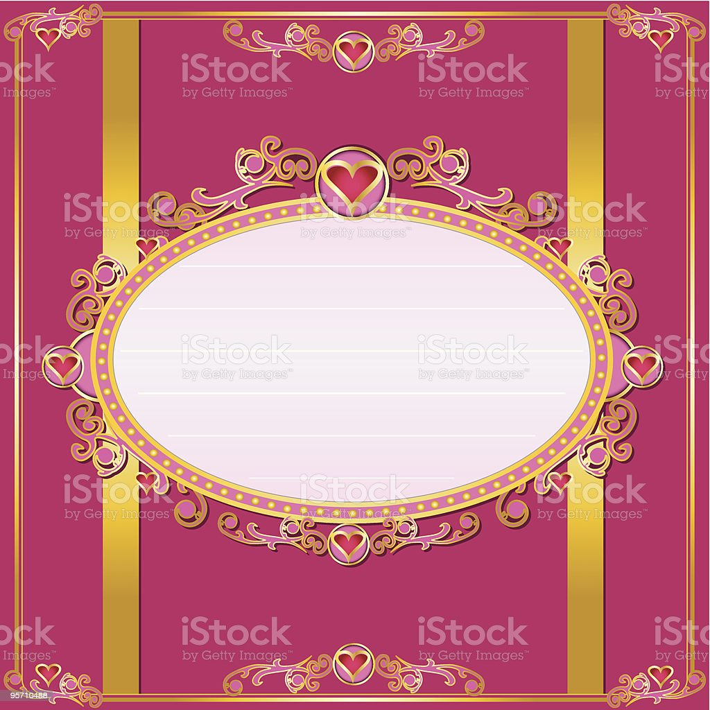 valentine's card royalty-free stock vector art