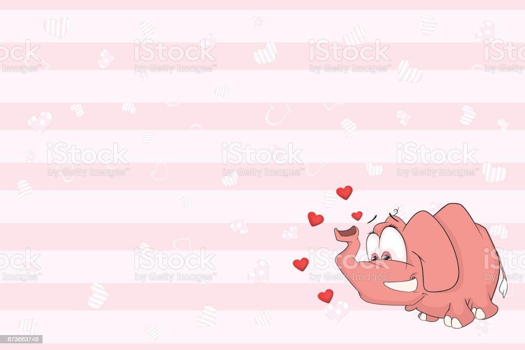 Vetores De Cartão De Dia Dos Namorados Com Ilustração De