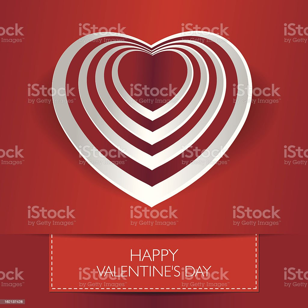 Valentine's card with text and heart shape. Vector ilustration royalty-free valentines card with text and heart shape vector ilustration stock vector art & more images of abstract