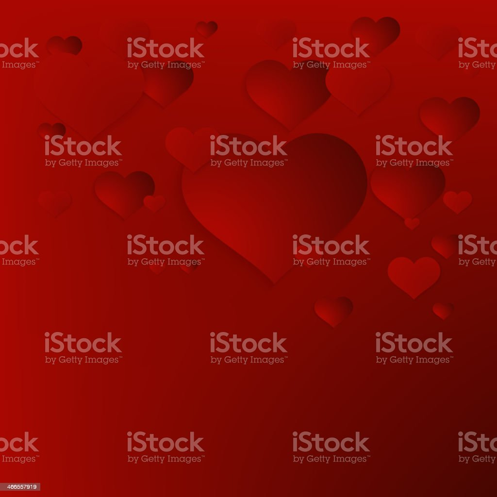 Valentine`s Day abstract background. + EPS10 royalty-free stock vector art
