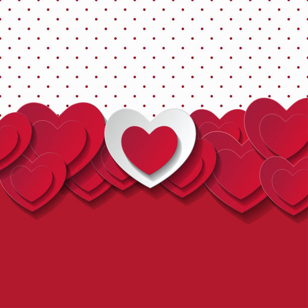 valentine's day abstract romantic background - valentine card stock illustrations