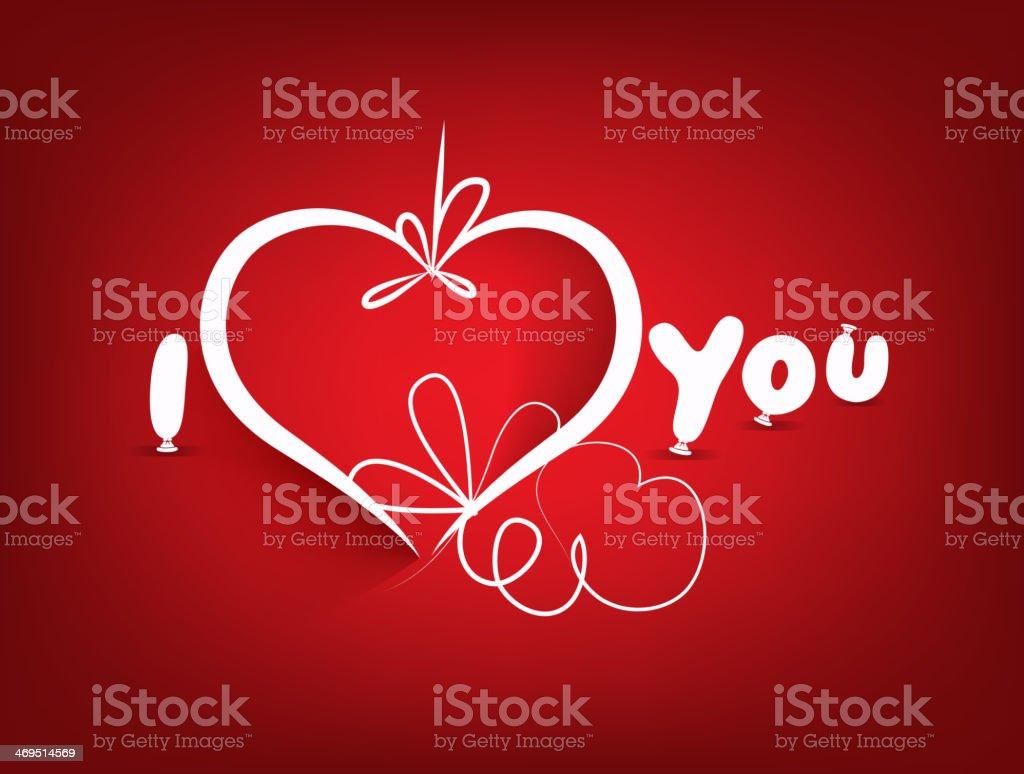 Dia Dos Namorados De Fundo E I Love Youfrase Em Inglês Arte
