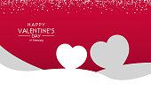 Valentines day background,  happy valentines day, valentines day banner morden luxury