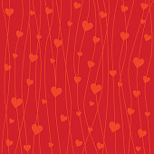 Vector Valentine's Day background .