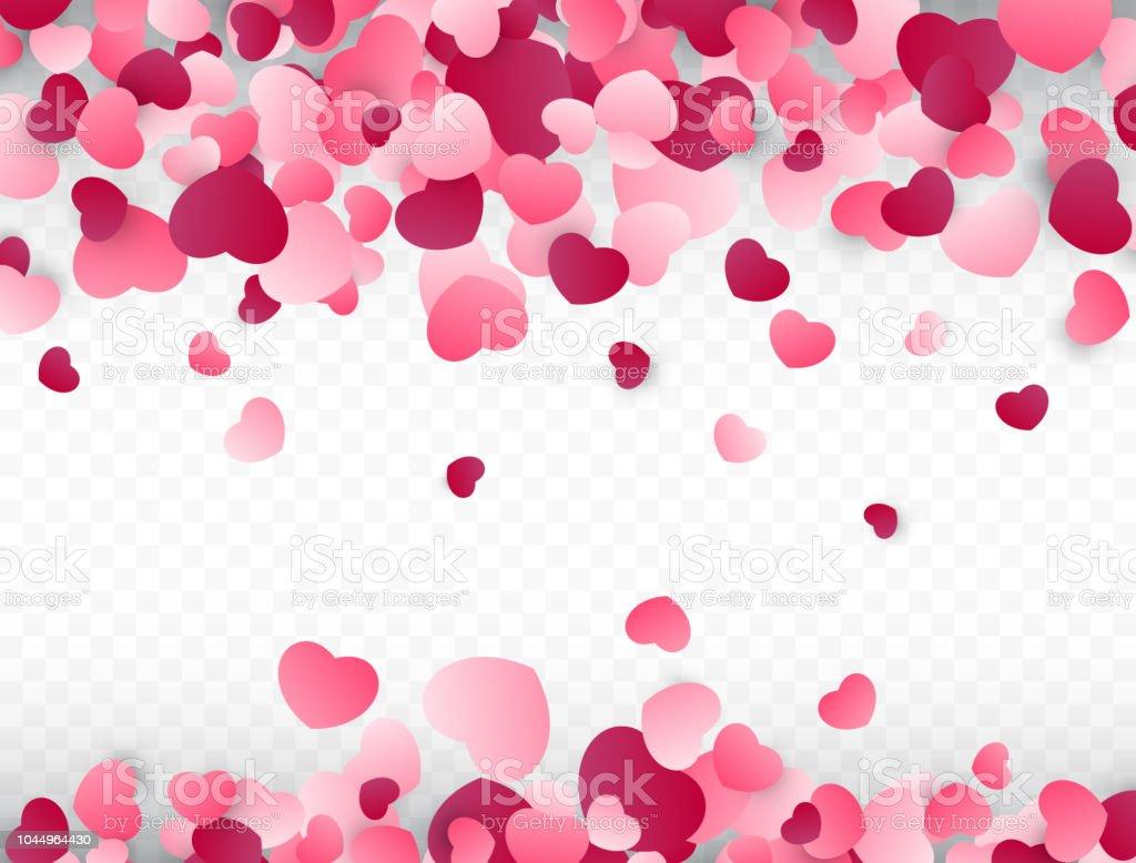 Ilustración De Fondo Del Día De San Valentín Con