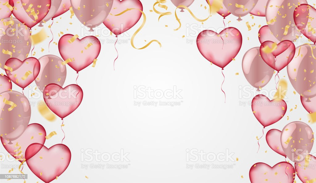 Royalty Free Sale Web Header Or Banner For Valentines Day Clip Art