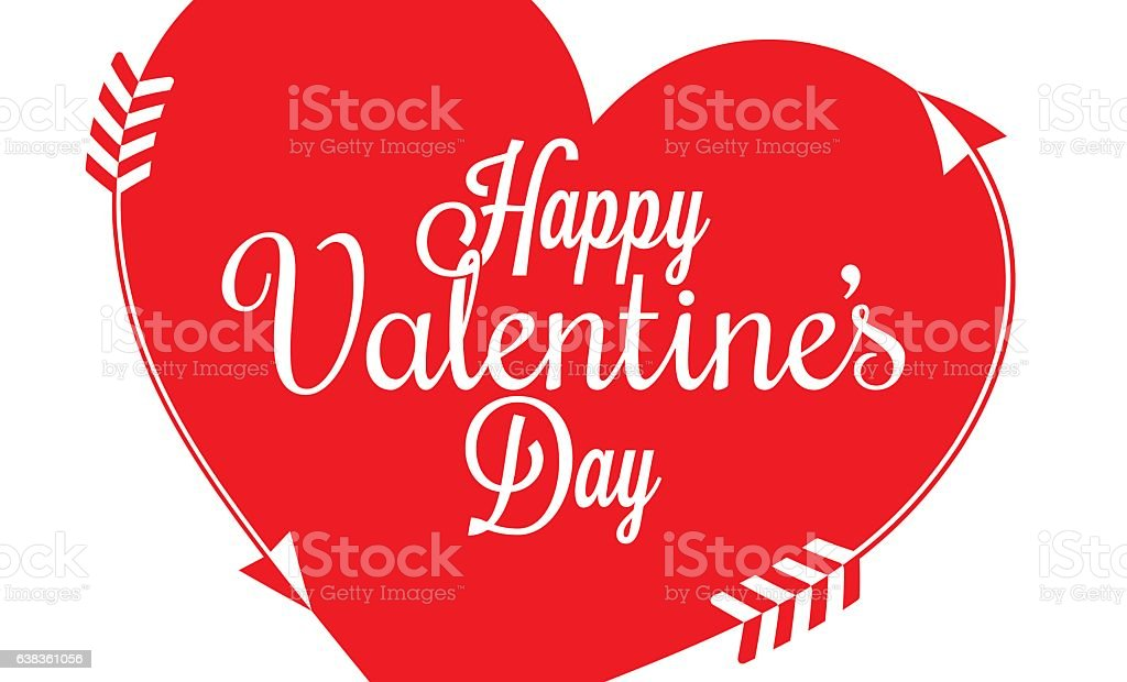 Valentines Day Border Heart Background Stock Vector Art More