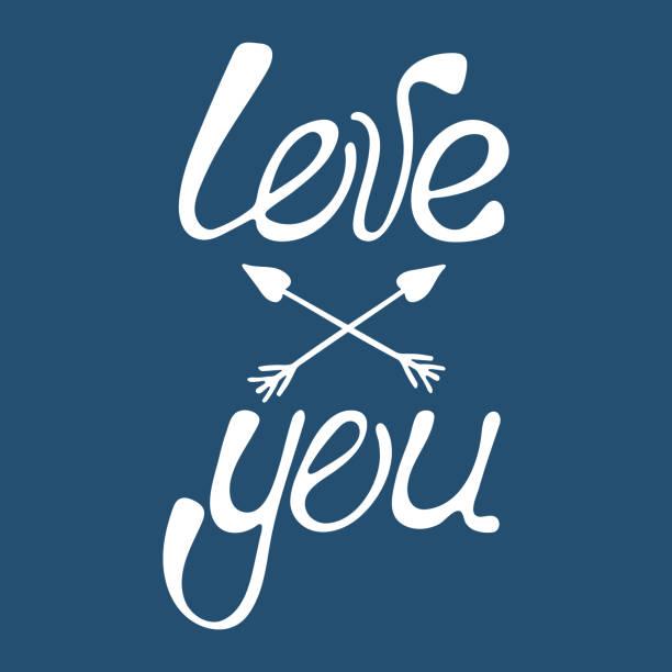 Valentines Day Calligraphy Phrase