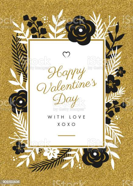 Valentines day card design with flowers frame vector id909300636?b=1&k=6&m=909300636&s=612x612&h=d tooauclymbgxoo pm48iutaof5vdq q2bganfmxiy=
