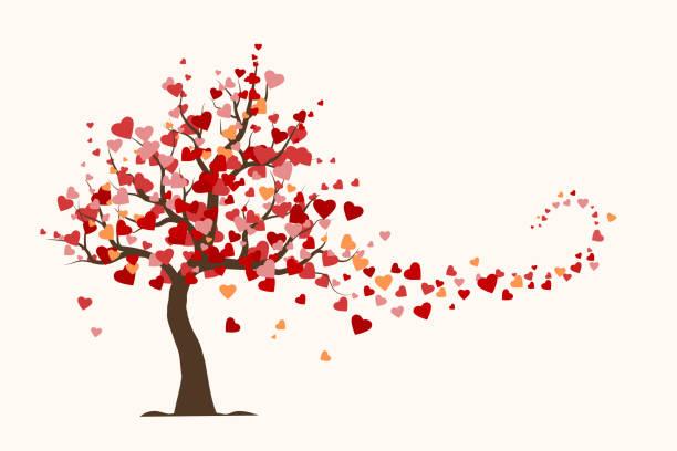 20 512 Heart Tree Illustrations Clip Art Istock