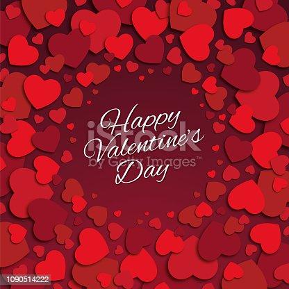 istock Valentine's Day Card. 1090514222