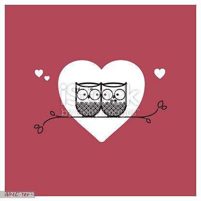 istock Valentine's Day card 1127487733