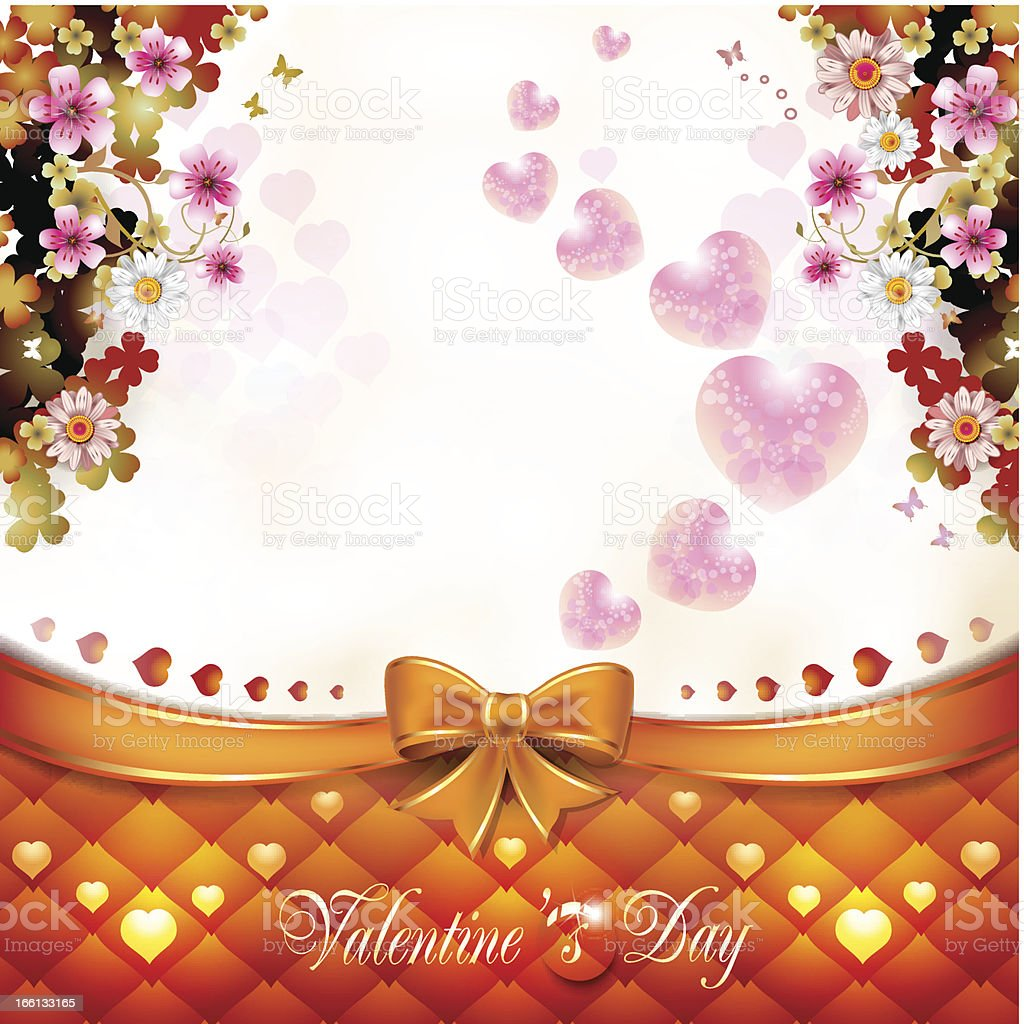 Valentine's day card royalty-free valentines day card stock vector art & more images of backgrounds