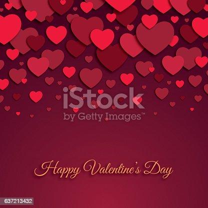 istock Valentine's Day Card 637213432
