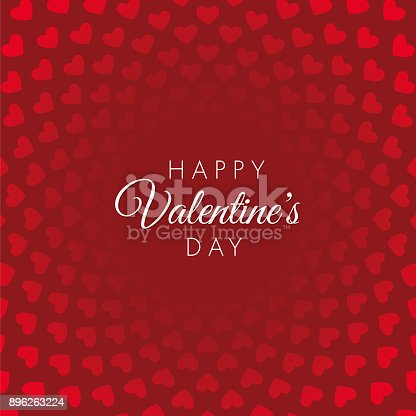 istock Valentine's Day Card. 896263224